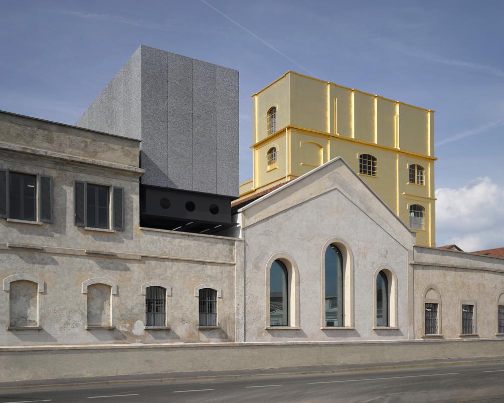 Fondazione Prada, Milan, Italy. Photograph by Bas Princen, Courtesy of Fondazione Prada